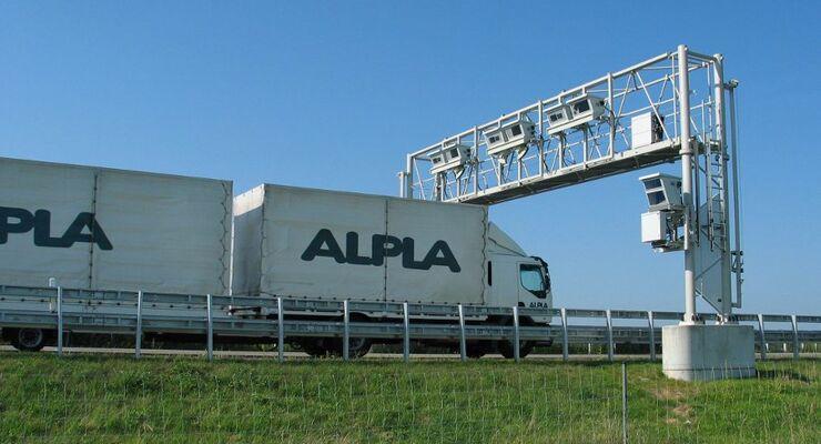 Mautbrücke auf der A 96