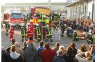 Mercedes Actros , Feuerwehr live Übung