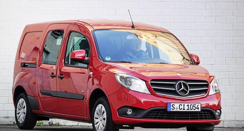 Mercedes-Benz Citan 111 CDI Mixto Dauertest Euro 6 Daimler