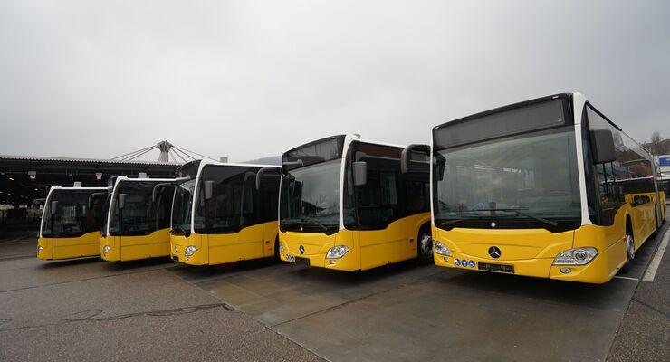 Mercedes-Benz Citaro G hybrid: Erste Citaro Hybridbusse ausgeliefert