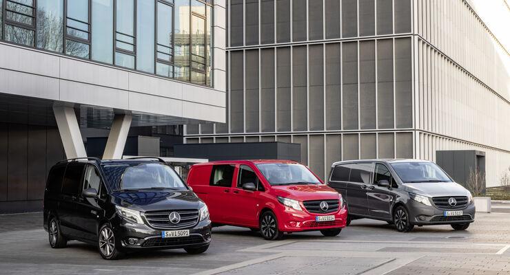 Mercedes-Benz Vito Tourer, Mixto und Kastenwagen