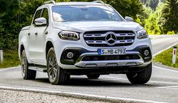 Mercedes-Benz X 350 d Test