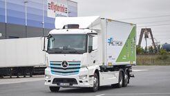 Mercedes-Benz eActros für Rigterink