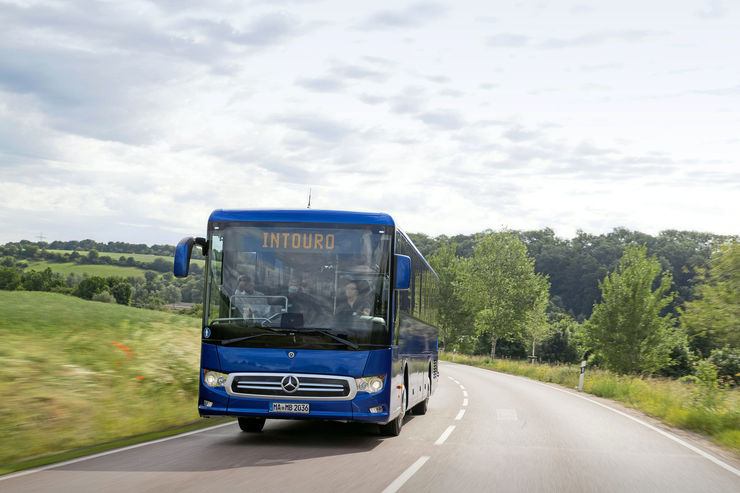 Mercedes Intouro Überlandbus 2021