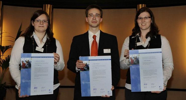 Nachwuchspreis Spedition und Logistik vergeben