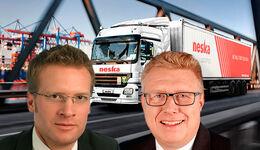 Neska: Hütten (li.) folgt auf Hansen
