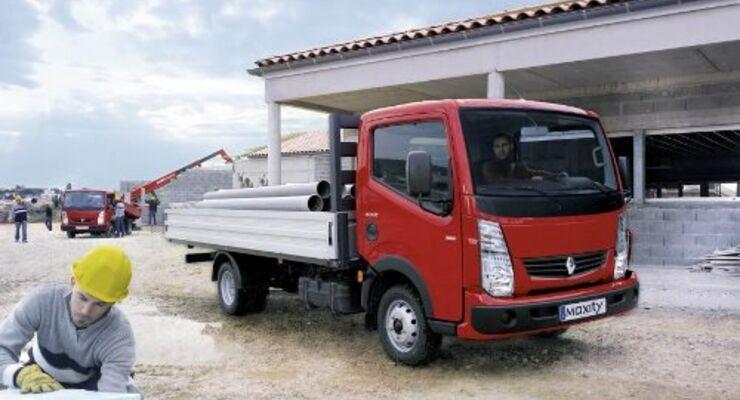 Neue Ausstattung für den Renault Maxity