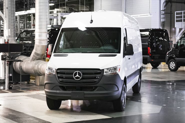 Neues Mercedes Sprinter Werk