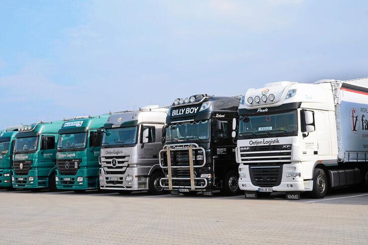 Oetjen Logistik, DAF, Mercedes