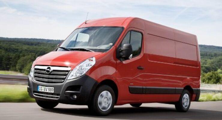 Opel setzt auf vielseitigen Movano