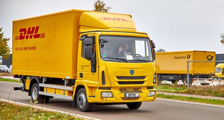 Orten Electric Trucks Deutsche Post DHL Elektro-Lkw