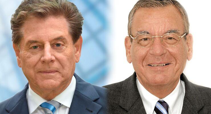 Peter Fischer (rechts), Eduard Oswald, Pro Mobilität