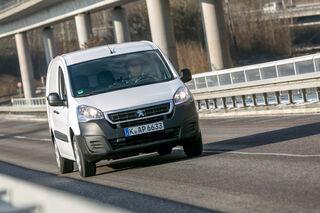 Peugeot Partner Bluehdi 100 Innenstadtprofi Mit