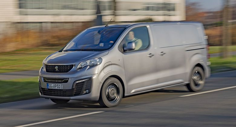 Peugeot e-Expert und Citroen e-Jumpy