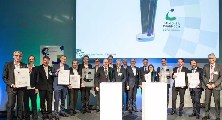 Preisverleihung VDA Logistik-Award 2018