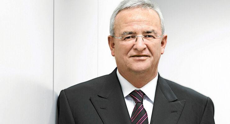 Prof. Dr. Dr. h.c. mult. Martin Winterkorn/Vorsitzender des Vorstands der Volkswagen AG, Mitglied des Vorstands der Volkswagen AG, Geschaeftsbereich ?Konzern Forschung und Entwicklung?, Vorsitzender des Aufsichtsrats der Audi AG, Vorsitzender des Vorstands