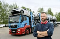 Profi im Profil FF 7/2018: Stephan Scholz von Mosolf, Autotransporter.