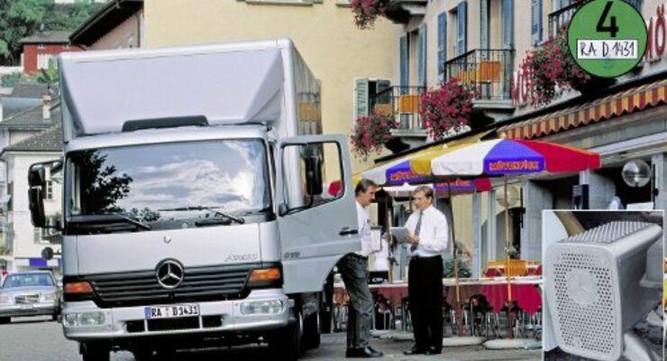 Puri Tech rüstet Mercedes-Lkw nach
