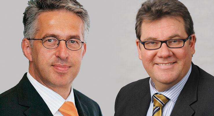 R�diger Bu� und Uwe Willhaus