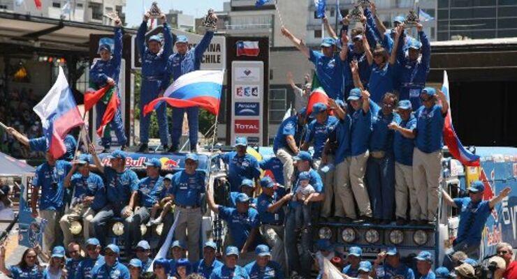 Rallye Dakar: das Finale