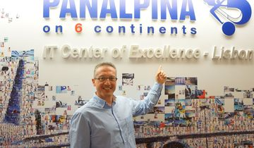 Ralph Halter, Head of IT Strategy and Planning bei Panalpina