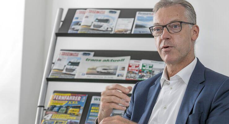 Redaktionsgespräch Dr. Andreas Bunz, LGI