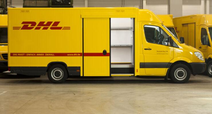 Saxas liefert 1.300 Aufbauten für DHL