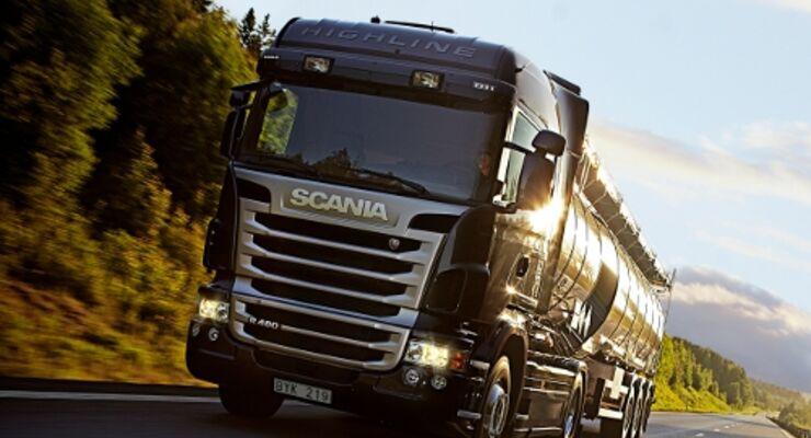 Scania-Fahrerwettbewerb startet 2010