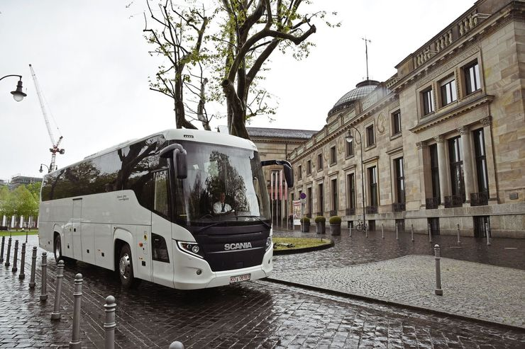 Scania Higer Touring Bus Test