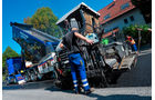 Scania R 500 Sperl Transporte, Scania-Kipper, Einsätze im Straßenbau