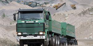 Scania R143HL 8x2 tipper