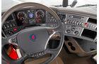 Scania R480 Euro 5 und Euro 6, Cockpit