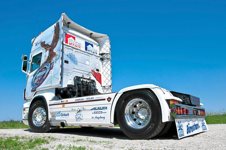 """Scania Trio-Trans """"Power Eagle"""""""