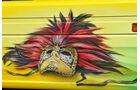 Scania Venezia, venezianische Maske