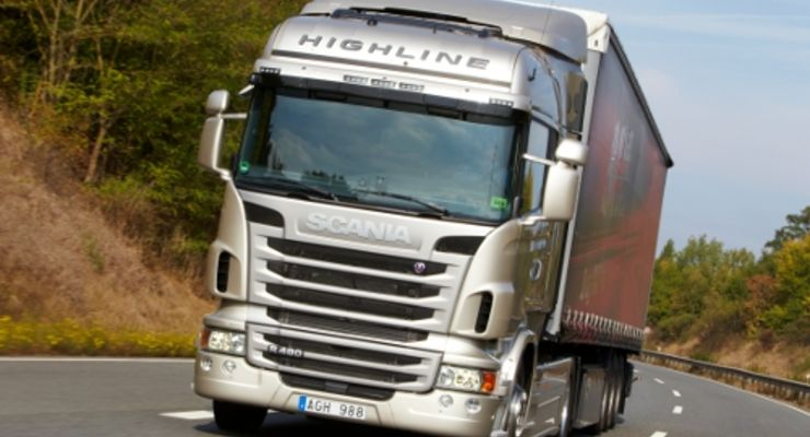 Scania muss Zulassungsminus verkraften