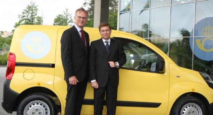 Schwedische Post bestellt 3.000 Fiat Fiorino
