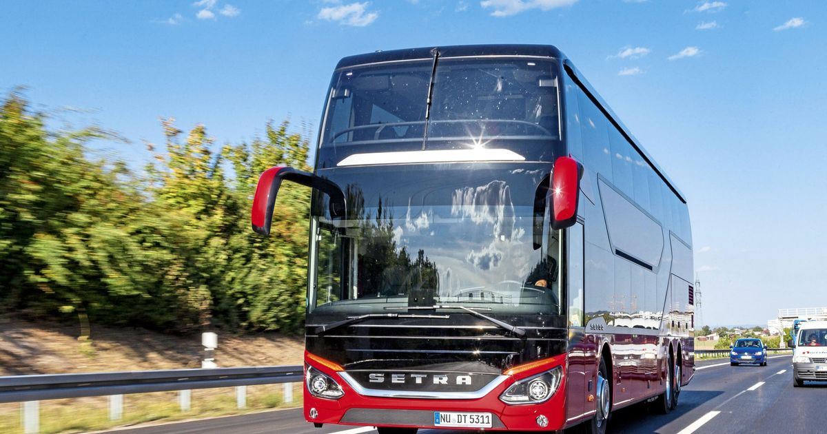 setra dt tests eurotransport. Black Bedroom Furniture Sets. Home Design Ideas