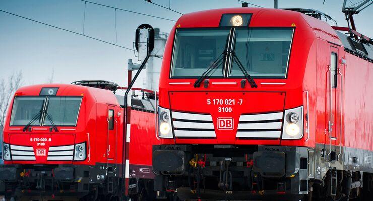 Siemens vernetzt Lokomotiven der Deutschen Bahn / Siemens networks locomotives of Deutsche Bahn