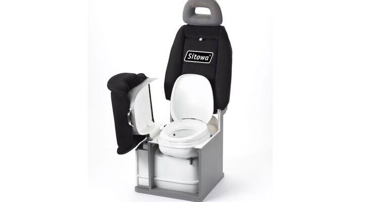 Sitowa mit integriertem Toilettenmodul