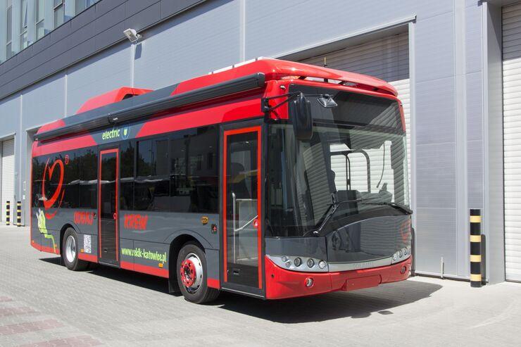 Solaris Urbino Blutspendemobil