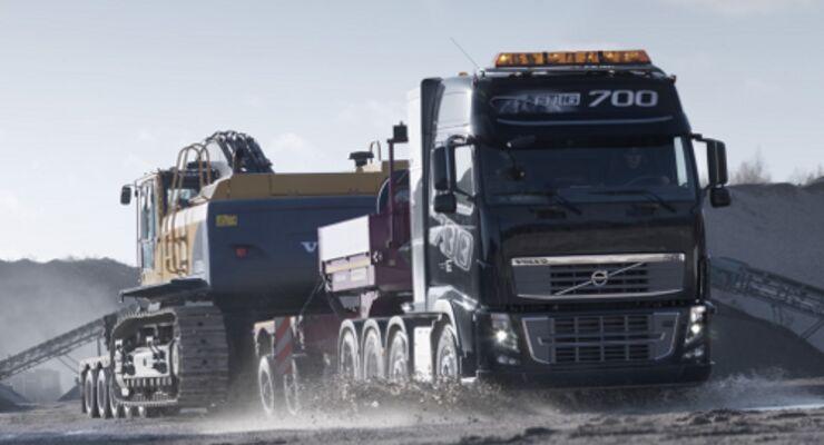 Stärkster Serien-Lkw kommt von Volvo