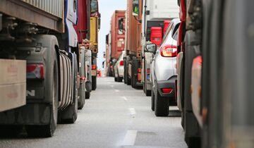 Stau, Autobahn, Verkehr, ADAC