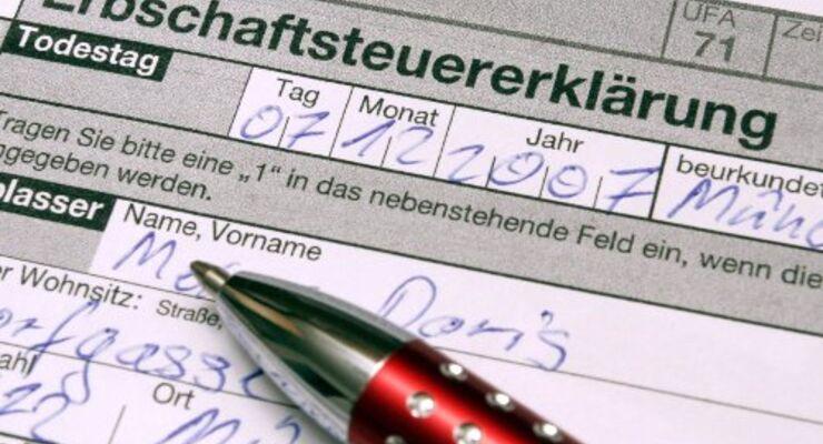 Studie: Erbschaftssteuer trifft auf Ablehnung