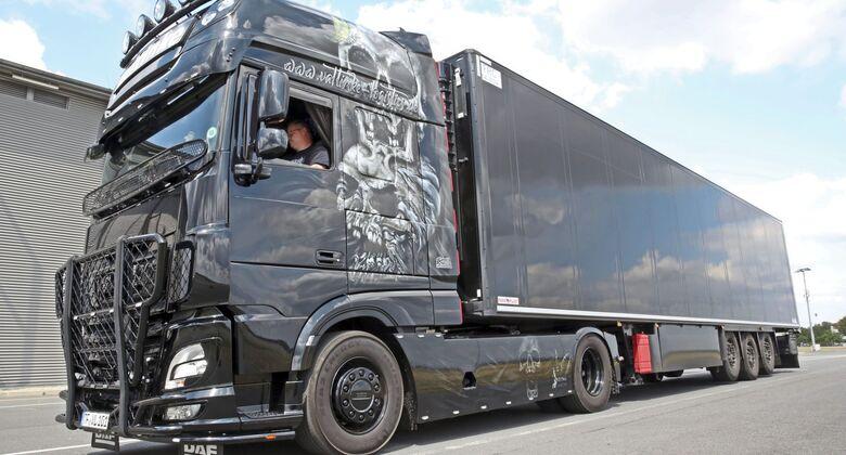 Supertruck FF 9/2019, Preußen, Eventlogistik, Valtinke Logistics.