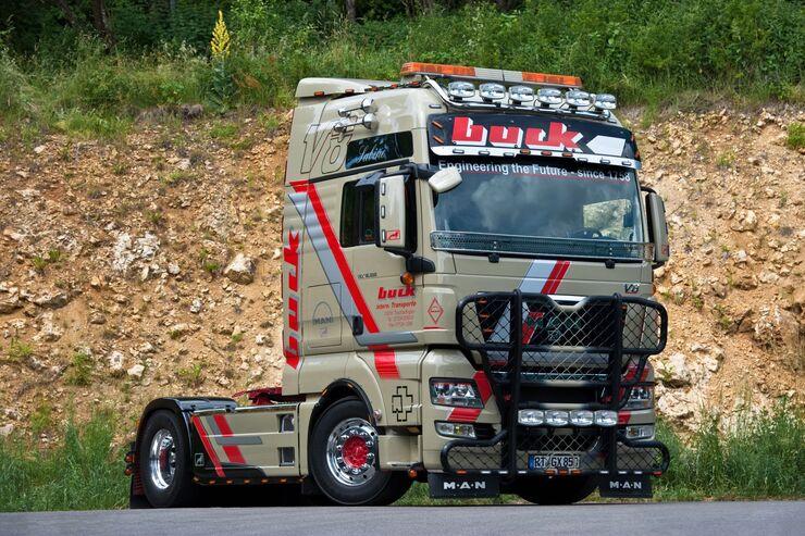 Supertruck-MAN TGX von Buck-Transporte