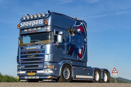 Supertruck Scania Longline