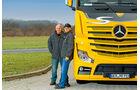 Testfahrer, Daimler Trucks, Charly Feiereis, Hans Luft