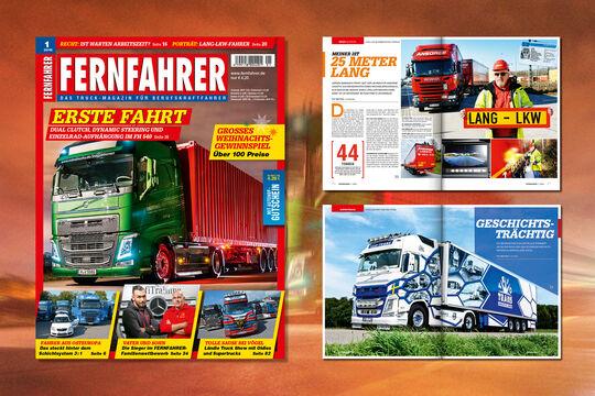 Titelmontage FERNFAHRER Ausgabe 1/2016