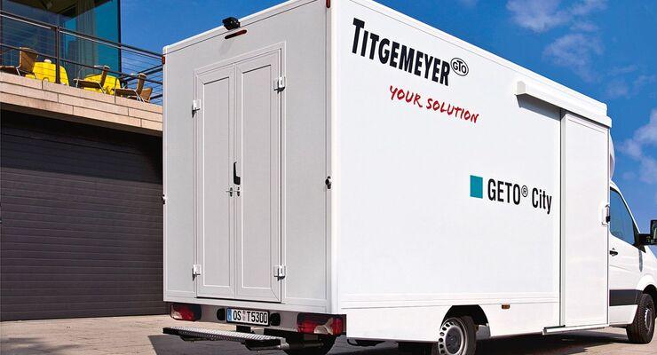 Titgemeyer, City-Verteiler, Aufbau, Kep-Dienst