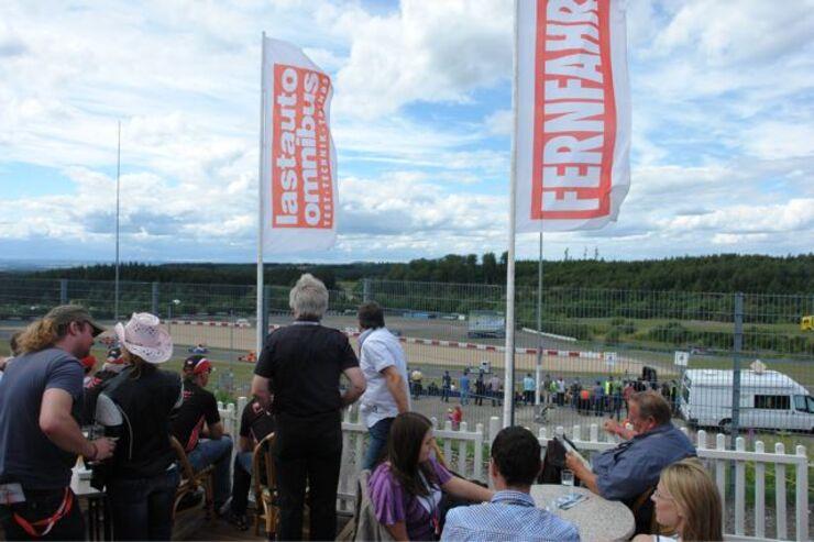 Truck-Grand-Prix, Truck Race, Lkw, FERNFAHRER, Abo, Zelt